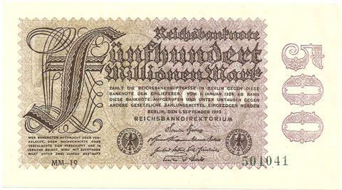 500 Mio Reichsmark